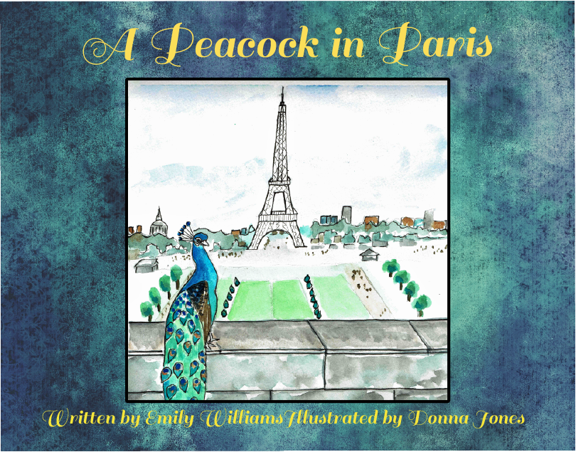 peacock in paris